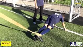 Сизикова Елена - тренер ОФП Школы Мяча. 5-й выпуск: упражнение со жгутом