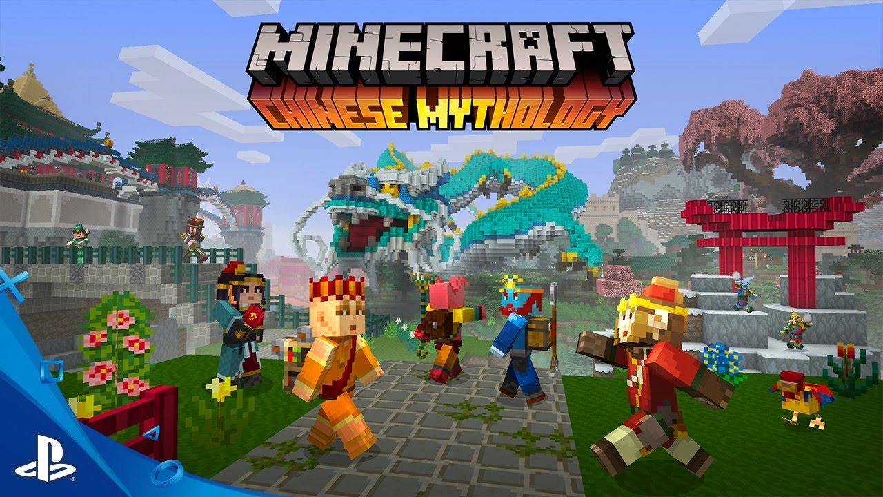 Minecraft Chinese Mythology Mash Up Pack Trailer Ps Ps Ps Vita