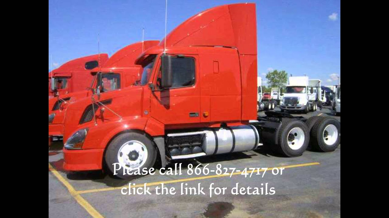 2007 VOLVO 430 Semi Truck Sleeper