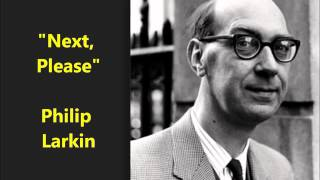 philip larkin study reading habits