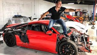 CRASHING ROYALTY EXOTIC RENTAL CARS IN LAS VEGAS! *EPIC FAILS*