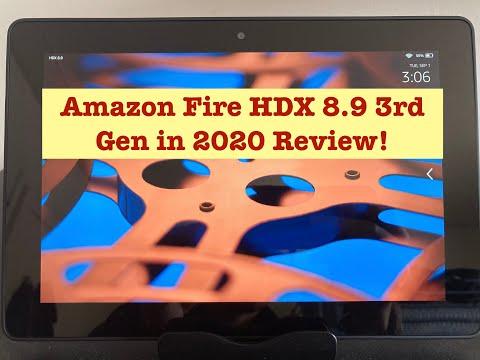 Amazon Fire Tablet HDX 8.9 in 2020, 3rd Gen Review