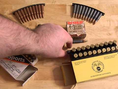 Whats The Best 7 62x39 Ammo For Shtf Youtube
