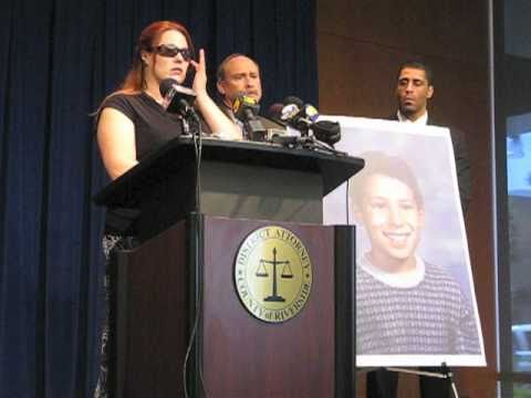 Mother of Anthony Martinez speaks Tuesday March 15...