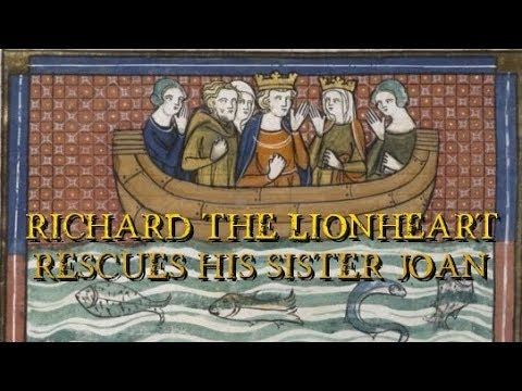 Richard the Lionheart rescues his sister Joan