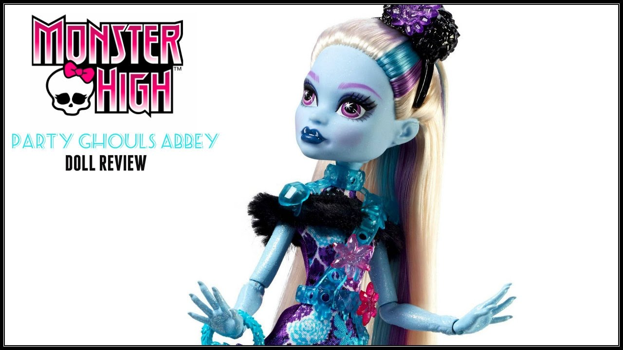 Uncategorized Abby Monster High monster high party ghouls abbey bominable doll review new 2017 mh dolls