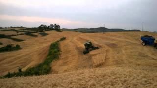 Colheita de trigo em Pitanga-PR John Deere 1470