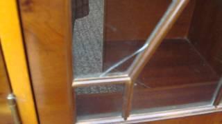 Yew Wood Astral Glazed Dresser
