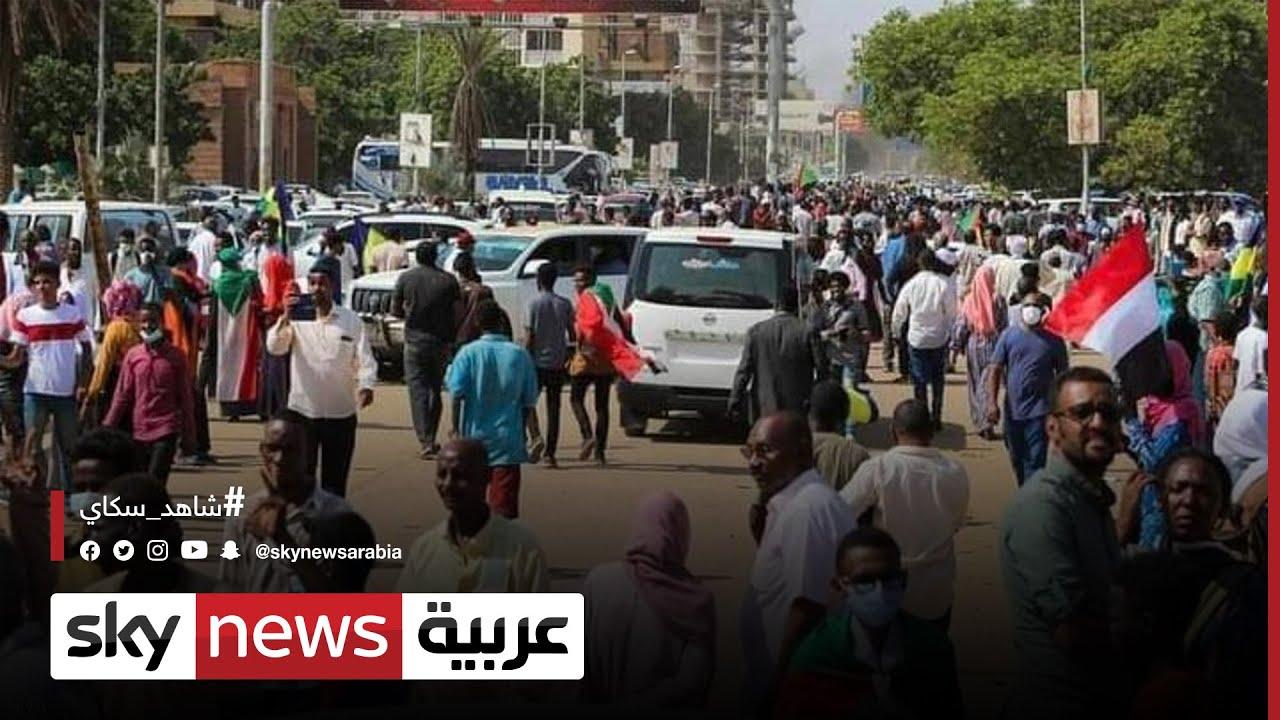 تواصل اعتصام القصر الجمهوري في #الخرطوم