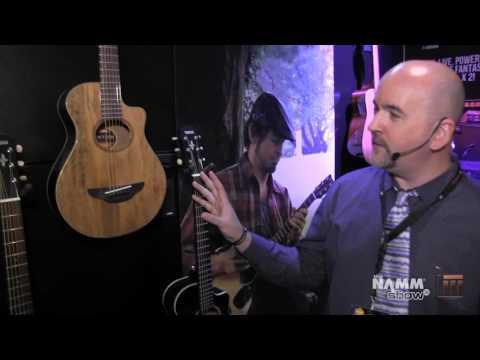 Long & McQuade @ NAMM 2016: Yamaha APX Travel Size Acoustic Guitars