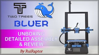 TwoTrees BLUER - Unboxing, Assembly & Review