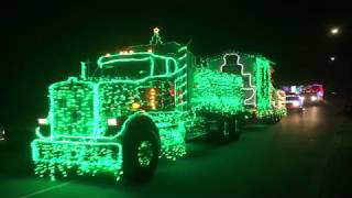 2018 Christmas Truck Parade Along Beach Drive in Oak Bay & Victoria