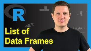 Create List of Data Frames in R (Example) | Concatenate Multiple Data Frames | list Function