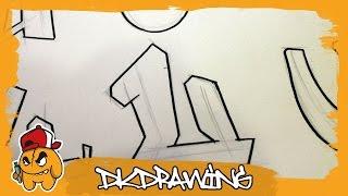 Graffiti Alphabets Letter U - Buchstabe U - Letra U