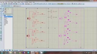 Motor Driver Circuit Design Using Relay + Simulation (Proteus 8 Professional)