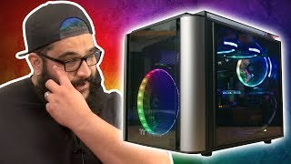 He never expected his new PC to look like THIS #pimpmyrig #pmr #episode4