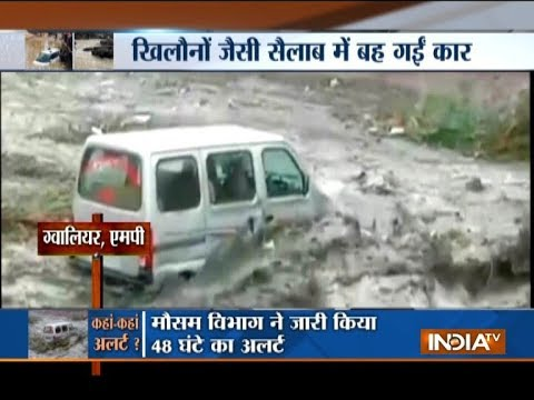 Heavy rain leads to flood-like situation in parts of country, normal life badly hit