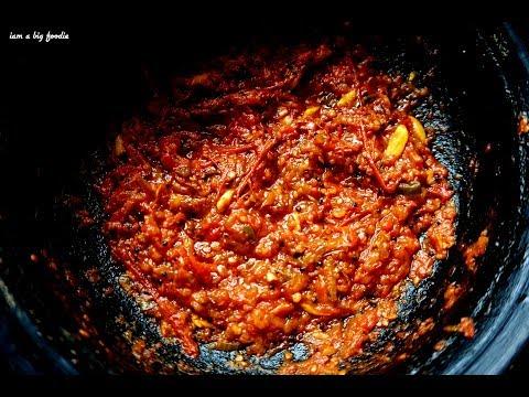 Spicy Tomato Chutney ||| Spicy Tomato Chutney Recipe