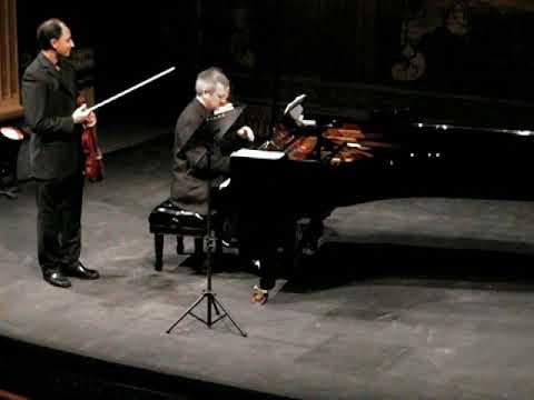Mendelssohn Violin Sonata in F - Carmine Lauri, violin / Simon Hester, piano  - Malta 2009