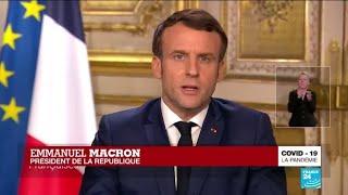 REPLAY - Coronavirus : Allocution d'Emmanuel Macron à propos du Covid-19 en France