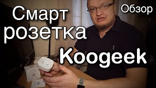 wi-Fi розетка KOOGEEK SMART PLUG KLSP2. Распаковка Будет ли работать с Apple HomeKit ?