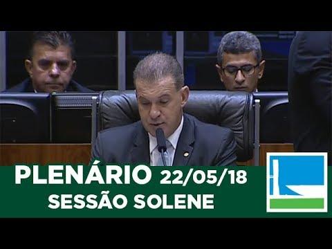 PLENÁRIO - Homenagem aos 60 anos da Rádio Colmeia de Cascavel - 22/05/2018 - 09:26