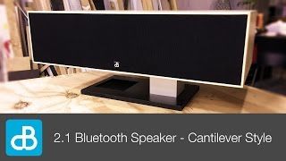 2.1 Bluetooth Speaker Build - CANTILEVER STYLE - by SoundBlab