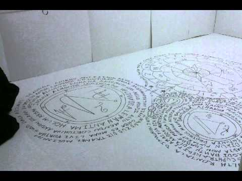 Making of the Sigil room