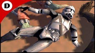 Clone Blood on the Beaches of Kashyyyk - Men of War: Star Wars Mod