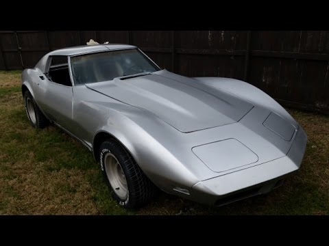 Abandoned Project: 1974 Corvette Stingray Video 1