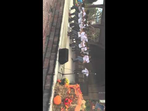 Lilburn Middle School stepping at Lilburn festival 2015