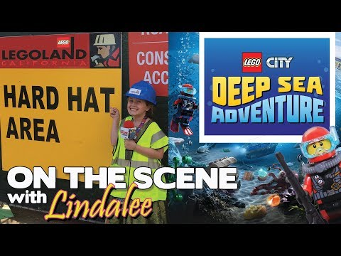 Deep Sea Adventure Hard Hat Tour! Legoland, CA - On the Scene with Lindalee