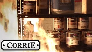 Andy Sets Fire to Kevin's Garage - Coronation Street