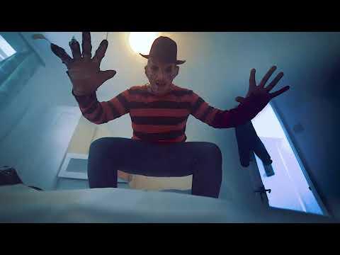 Freddy Krueger attacks on Halloween 2017 ! Crep Protect