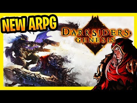 Darksiders Genesis Campaign Gameplay Part 1 Walkthrough (New Action RPG Isometric Hack And Slash )