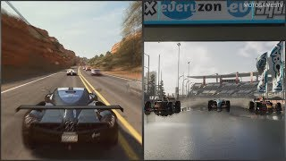 The Crew vs The Crew 2 - Coast to Coast Trailer Comparison