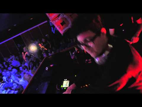 SKRILLEX B2B ALVIN RISK - BUD BEATS BROS @ KER CLUB - 3.1.2014