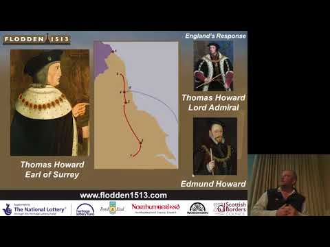 """""""Strategic Decisions at Flodden... or James was Robbed"""" by Dr Christopher Burgess"""
