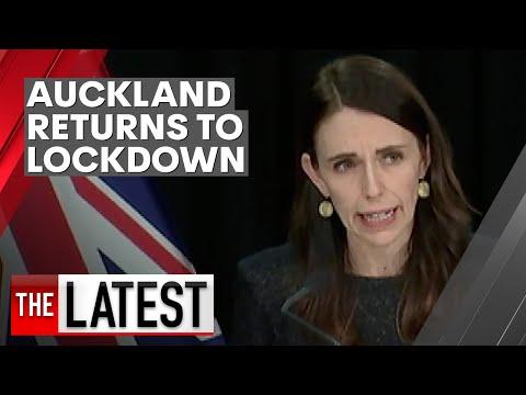 Coronavirus: Auckland back in lockdown as COVID-19 returns to New Zealand | 7NEWS