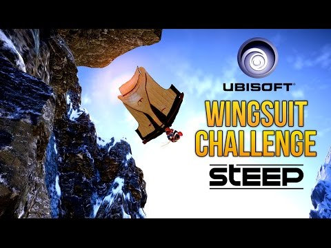 CHASING THE WORLD RECORD UbisoftAnnecy's Extreme Wingsuit Dare // STEEP Gameplay
