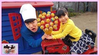 미니 유니와 맛있는 사탕 같이 먹어요~ Pororo Pinkfong Candy - Romiyu 로미유