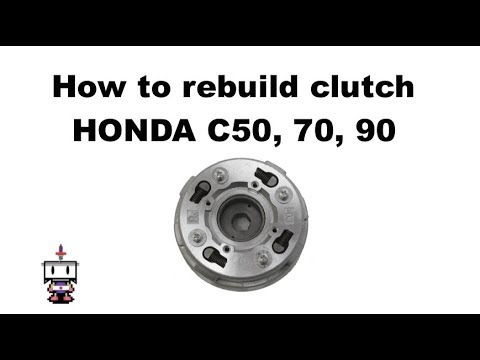 (Detailed Version) How to Rebuild a Honda or Pitbike Semi Auto Clutch Pack, 50, 70 and 90cc
