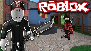 ROBLOX MM2 - GUEST TROLLING!!! (KNIFE IN LOBBY GLITCH)