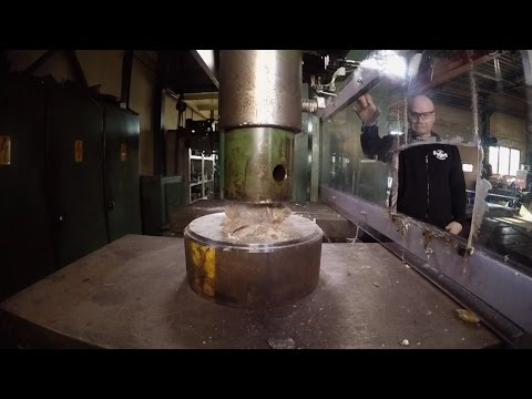Can This Hydraulic Press Fold Paper More than 7 Times?