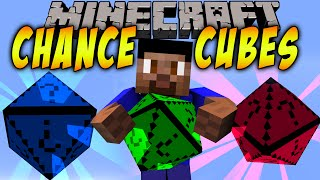 Minecraft CHANCE CUBES - New Lucky Block?! (Mod