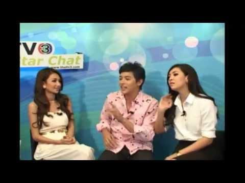 130509 ThaiTV3 - Star Chat คุณชายพุฒิภัทร เจมส์-เบลล่า