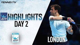 Highlights: Dimitrov Battles Past Thiem In Debut At The O2 Nitto ATP Finals 2017