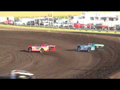 IMCA Late Model Heat Benton County Speedway 8/13/17
