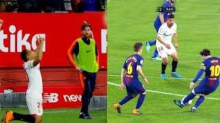 Download Video Lionel Messi comes to Game, Game comebacks to Barcelona ● ( Messi vs Sevilla) MP3 3GP MP4