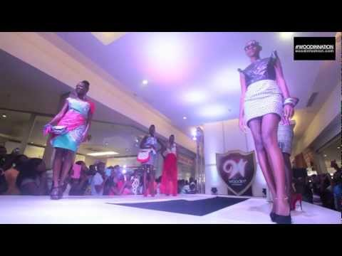 #WoodinNation Accra Mall Takeover   FASHION SHOW   1080p